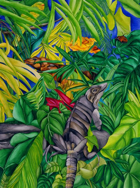 iguana habitat ruth daniels artist gallery
