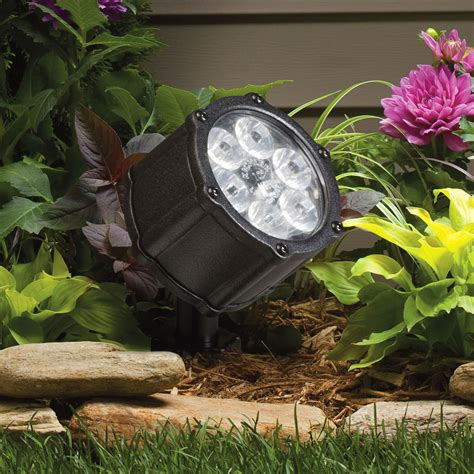 Landscaping Led Lights Kichler Lighting Kichler Led Landscape Lighting Make Your Outdoors Shine And Reflect A Relaxing