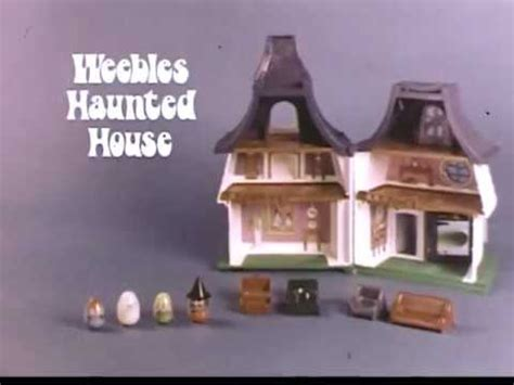 weebles haunted house 1970 s weebles haunted house commercial youtube