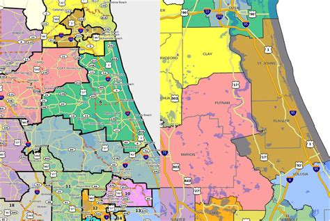 Volusia County School Calendar 2015 Hutson S District Boundaries Would Shed Putnam For Volusia