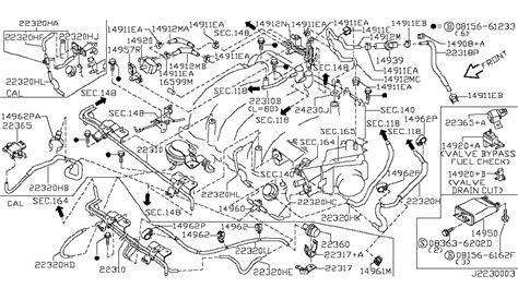 1999 nissan maxima vacuum hose diagram 2000 nissan maxima engine vacuum piping