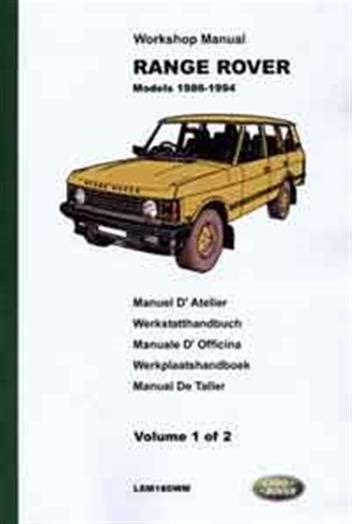 free auto repair manuals 1999 land rover range rover free book repair manuals free service manual of 1986 land rover range rover 1986 range rover vogue 3 5 v8 manual