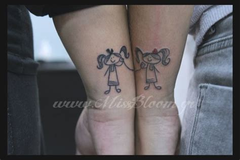 stick figure tattoos pin stick figure on