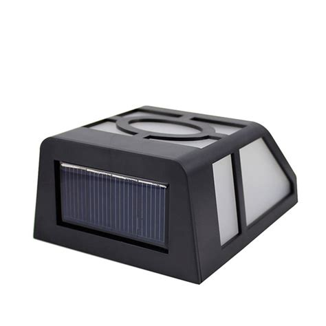 Outdoor Led Yard Lights Solar Powered Wall Led Lights L Outdoor Landscape Garden Yard Fence Best Solar Garden