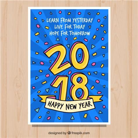 Cartes De Voeux Gratuit by Carte De Voeux Pour Une Bonne 233 E 2018 T 233 L 233 Charger Des
