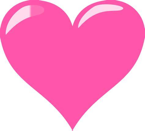 pink hearts pink clip at clker vector clip