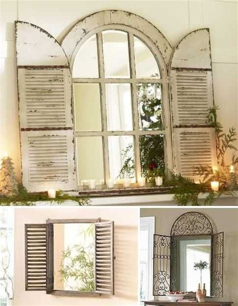 thrifty decorating old windows as wall decor vintage window shutter decor wooden and metal