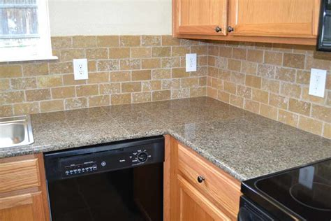Granite Tile Kitchen Countertops All Home Decorations Kitchen Tile Countertops