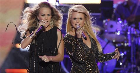 carrie underwood and miranda lambert are truly sugar and spice rare country