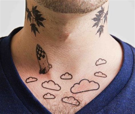whatever tattoo clouds set of 2 temporary tattoos clouds are a