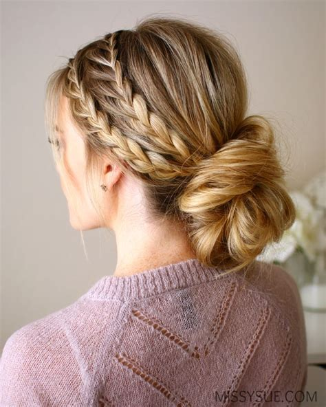 Braided Bun Hairstyles by Best 10 Braided Hairstyles Ideas On Hair
