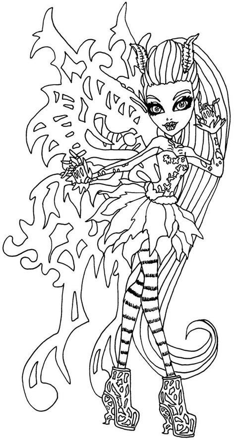 monster high madison fear coloring pages 57 best monster high ever after high coloring pages