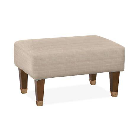 small ottomans with legs westport small ottoman ottomans furniture fabrics 1