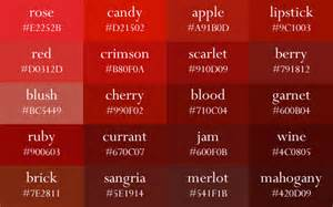 gallery for gt color names red