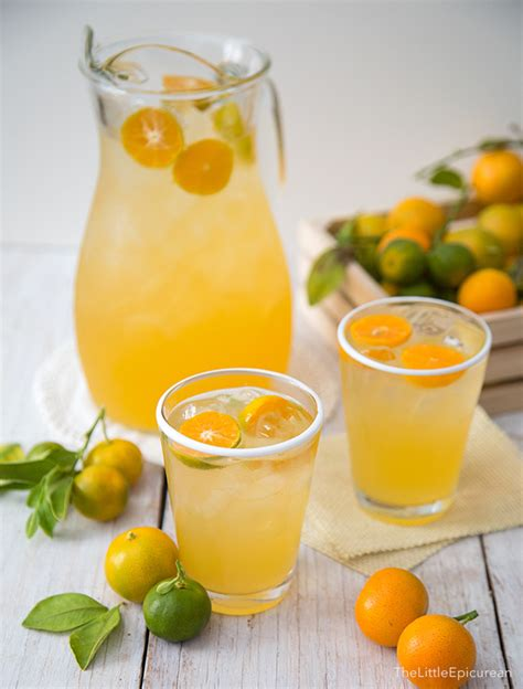 Where To Buy Detox Drinks In The Philippines by Calamansi Juice Lemonade The Epicurean