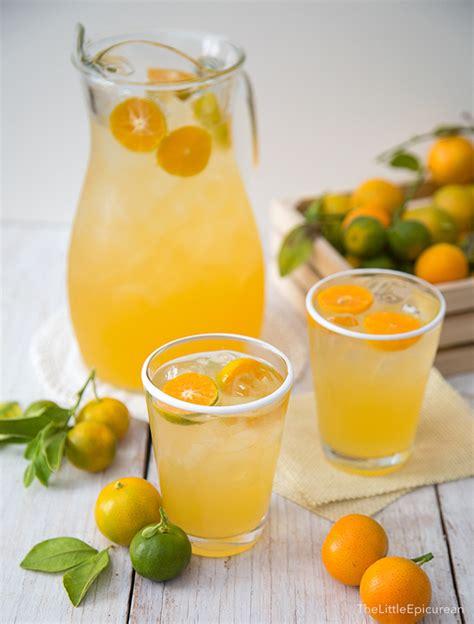 Calamansi Juice (Filipino Lemonade)   The Little Epicurean