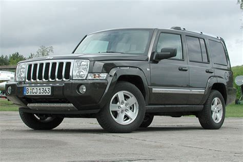 Jeep Commander 3 0 Crd Review Jeep Commander 3 0 Crd Technical Details History Photos