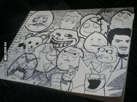 9gag Sketches by Draw All The Meme Faces 9gag