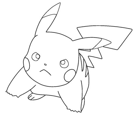 pikachu ex coloring pages free coloring pages of pikachu