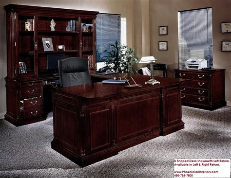 desk and hutch set u shaped executive desk sets best home design 2018