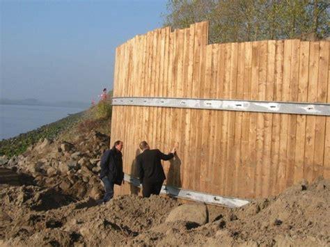 timber sheet pile wall wood retaining wall timber retaining wall ecochoice
