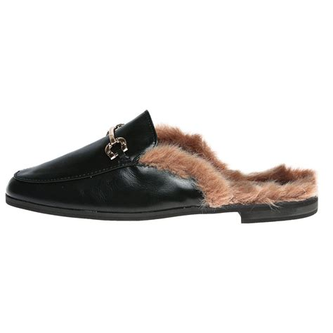 womens shoes loafers backless mules open smart