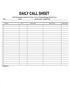 daily call sheet template sle phone log template taking phone messages is