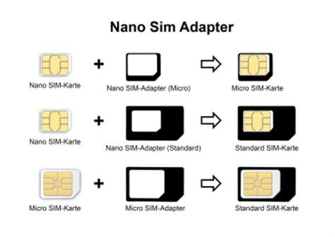 3in1 Noosy Sim Adapter precorn onlineshop nano sim karten adapter 3 in 1 und