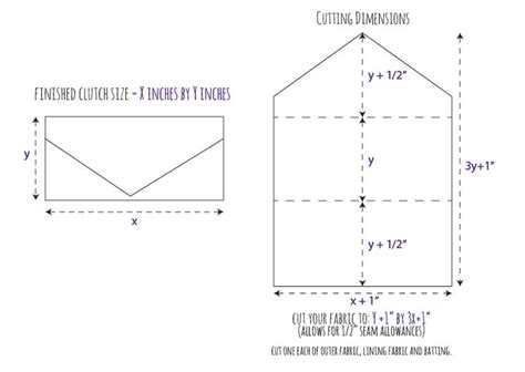 envelope pattern c diy vintage wedding dress envelope clutch tutorial