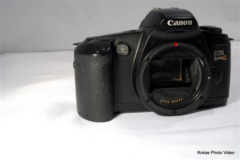 canon eos rebel g canon eos rebel g slr only no lens used