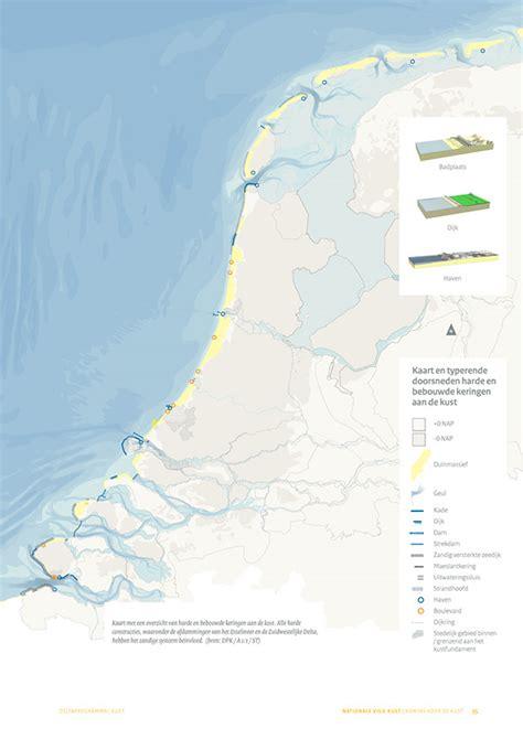 netherlands coast map maps national vision coast netherlands on behance