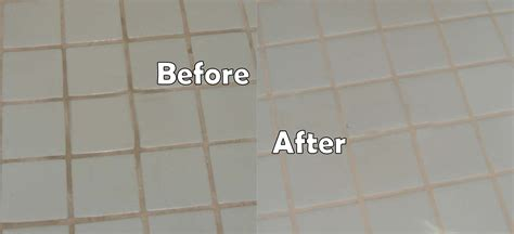 Grout Cleaning Before And After Grout Sealing Before After Images Seal Systems