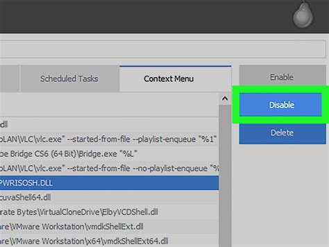 ccleaner context menu how to clean up a right click context menu using ccleaner