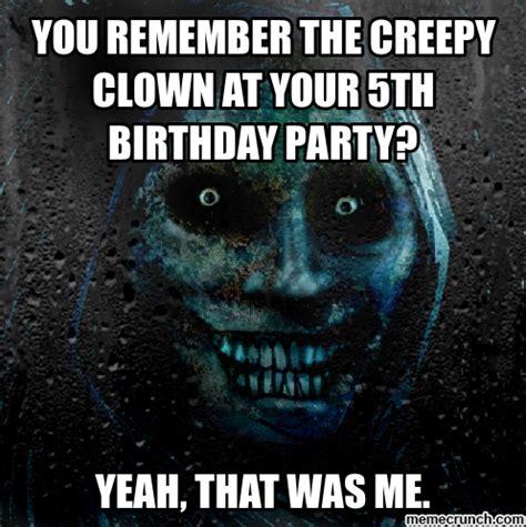 Creepy Clown Meme - creepy clown