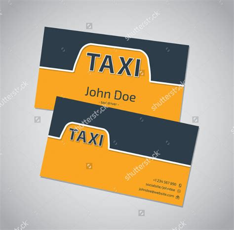 taxi business cards templates free 21 taxi business card templates free premium