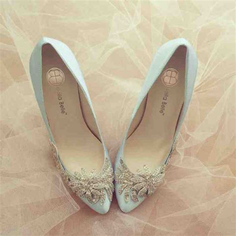 Vintage Wedding Shoes by Vintage Blue Wedding Shoes Wedding And Bridal Inspiration