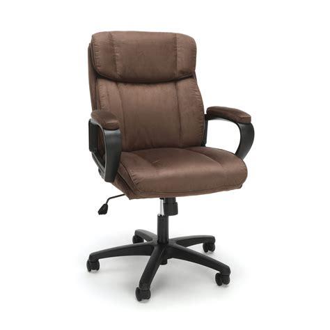 plush microfiber office chair brown 845123095287 ebay