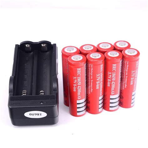 L Ultrafire Ax 18650 Rechargeable Battery 4200mah 8 x ultrafire 18650 3 7v 4200mah lithium rechargeable