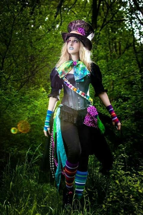 Mad Hatter, by Katie Fleming.   Alice in Wonderland ... Female Mad Hatter Costume