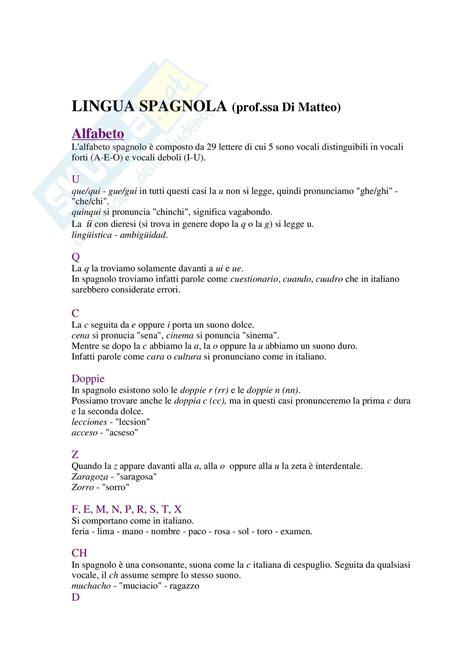 la spagnola testo lingua spagnola l alfabeto spagnolo