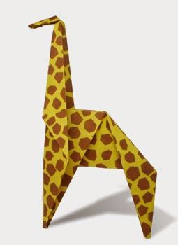 Easy Origami Giraffe - giraffe 2 easy origami for