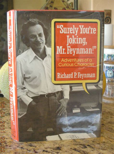 surely you re joking books richard p feynman signed book at mt tomes and