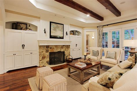 memorial hamptons style traditional living room