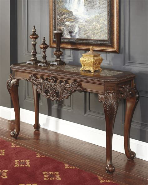 sofa table ashley furniture t893 4 ashley furniture florimar sofa table charlotte