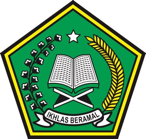 email kemenag logo vector kemenag kementrian agama stok logo