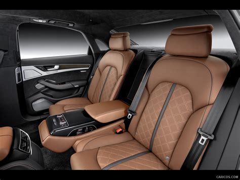 audi s8 2014 interior rear seats hd wallpaper 45