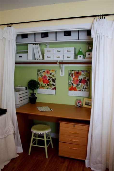 the chair closet office craft space part 1