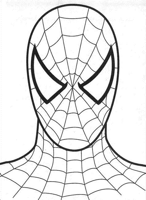 pdf printable coloring spiderman worksheets for kids