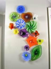 Glass Tube Vase Blown Glass Flower Wall Art Kitchen Pinterest