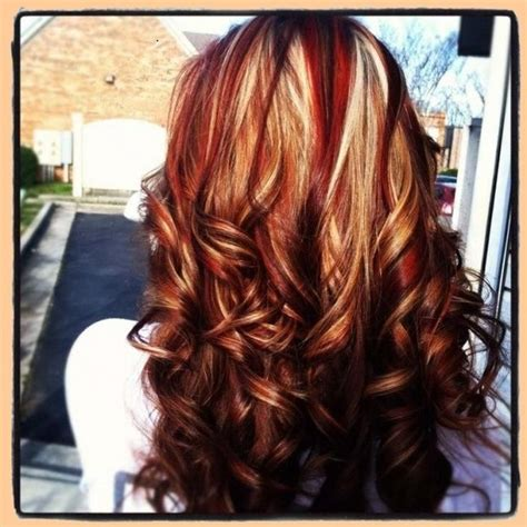 red hair highlights and lowlights 1000 ideas about dark blonde highlights on pinterest